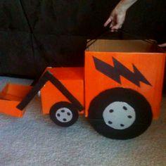 construction valentine card box idea @Summer Phelps - for Syd's boys