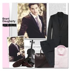"""""""MEN'S FASHION : Brant Daugherty"""" by alves-nogueira ❤ liked on Polyvore featuring Burberry, Canali, Hackett, mens, men, men's wear, mens wear, male, mens clothing and mens fashion"""