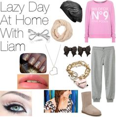 """""""Lazy Day At Home With Liam Payne."""" by one-direction-date-outfits ❤ liked on Polyvore"""