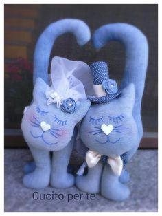 Gatti sposi, fermaporta