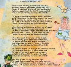 An old lady Funny Poems, Funny Quotes, Old Lady Humor, Aging Humor, Senior Humor, Birthday Poems, 90th Birthday, Kids Poems, Old Folks