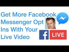 Facebook live video marketing tips http://www.m.me/GoLiveRyan Doing live video and not having a lead magnet will significantly lower your opportunity to … source