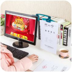 Best Price Korea Creative Computer Display Special Document Document Input Typewriting Entry Clip / Paper Holder #Korea #Creative #Computer #Display #Special #Document #Input #Typewriting #Entry #Clip #Paper #Holder