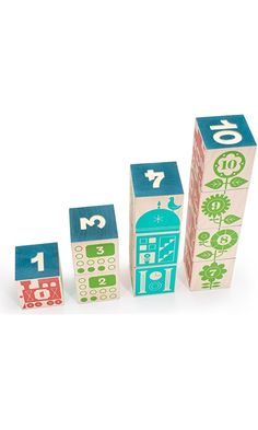 Uncle Goose Count and Stack Blocks - Made in USA Best Price