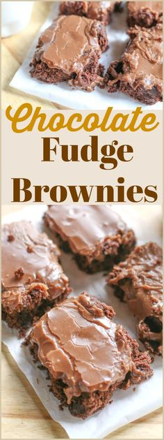 Do you love gooey, #chocolate #FudgeBrownies? Then you will love this recipe. This sweet recipe adds buttermilk to to the batter for moist brownies and a homemade crackly #fudge gooey frosting. After one bite, you will not be able to walk away. These are wicked good!