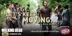 """Quench your thirst with this #OneofaKindSurvivalTips exclusive from @DrPepper and #TWD."""