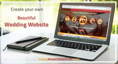 It's never been easier to create your own beautiful wedding website that looks like it was made by a total design guru! Learn More: http://shaadiamantran.com
