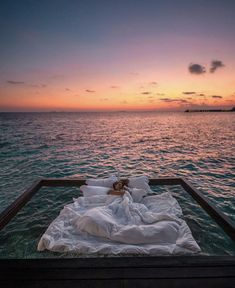 This Maldives Resort Is Known For Its Suspended Nets Above the Sea, and the Photos Are Unreal - - A remote resort is known for its above-water nets, and the photos are unreal. Vacation Places, Dream Vacations, Vacation Spots, Romantic Vacations, Italy Vacation, Romantic Travel, Romantic Places, Romantic Getaways, Vacation Packages