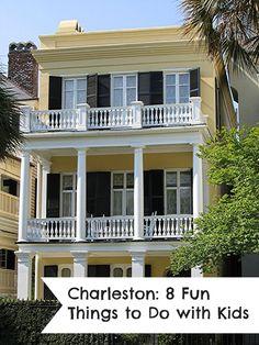 Charleston: 8 Fun Things to Do with Kids (Boone Hall Plantation, South Carolina Aquarium, USS Yorktown, etc.)