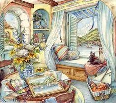 Kim Jacobs ~ Window Seat