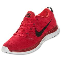 best website faa88 f5ad5 Mens Nike Flyknit Lunar 1 Gym Red Black Pure Platinum 554887 601 Latest Nike  Sneakers,