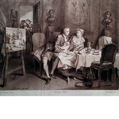 Suite d'Estampes d'après Lancret, Pater, Eisen, Boucher etc. 1885. via Galleri Skott. Click on the image to see more!