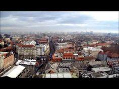 Best view of Zagreb Nice View, Croatia, Paris Skyline, Youtube, Travel, Viajes, Destinations, Traveling, Trips