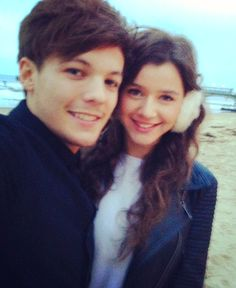 Eleanor Calder w/ Louis Tomlinson (Eleanor's instagram)