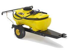 Tow-Behind Sprayer Spraying & Spreading John Deere Lawn Mower, John Deere Tractors, Atv Trailers, Yard Maintenance, Tractor Seats, Tractor Implements, Compact Tractors, Riding Mower, Utility Cart