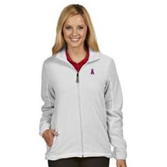 Tips on Shopping for Los Angeles Angels Womens Ice Polar Fleece Jacket (Color: White) - Small