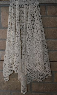 PDF SHETLAND Sand Lace Shawl Pattern by heirloomlace on Etsy, $5.99