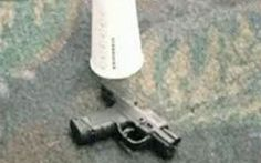 The semi-automatic handgun used in the Fort-Lauderdale-Hollywood Airport shooting.