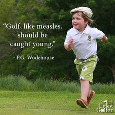 Golf quote by P.G. Wodehouse I Rock Bottom Golf #rockbottomgolf