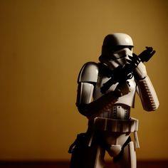 // The dark side of galactic empire stormtrooper [2] //      #reco_ig #capture_today #justgoshoot #ink361_justgoshoot #starwars #starwarsgeek #starwarsdaily #stormtrooperart #galacticempire #actionfigurephotography #fujifilm_id #fujimages #fujifeed #nijishots by yogagassi