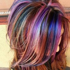 There are a lot of people out there that think they're hair isn't as great as it used to be. This is due to the fact that people neglect their hair and lose Hair Color And Cut, Haircut And Color, Cool Hair Color, Hair Colors, Exotic Hair Color, Beautiful Hair Color, Brown Blonde Hair, Purple Hair, Purple Streaked Hair