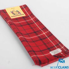 Clan Rose Tartan Scarf