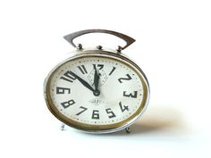 French vintage JAPY Alarm clock . by CabArtVintage on Etsy