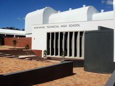 Northpine Technical High School - forecourt School Design, Opera House, High School, Building, Schools, Outdoor Decor, Home, Grammar School, Buildings