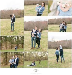 Pittsburgh Outdoor Family Portrait Session.  ©Laura Kathleen Photography