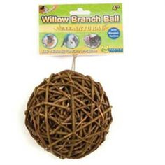 Ware Manufacturing Willow Branch Ball 4-inch - http://weloveourpugs.net/?product=ware-manufacturing-willow-branch-ball-4-inch