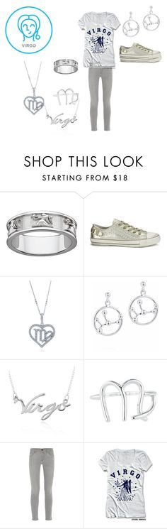 """Virgo (my boyfriend's zodiac)"" by pinkleopardchick ❤ liked on Polyvore featuring Ash, BERRICLE, Belk & Co., Rock 'N Rose and Frame Denim"