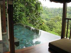 Relaxing in Ubud, Bali