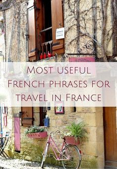 French travel phrases you must know for a trip to France (AUDIO) Oui In France Most useful French phrases for travel in France (AUDIO)IN IN, In or in may refer to: French Travel Phrases, Useful French Phrases, France 3, Visit France, Bordeaux France, How To Speak French, Learn French, Learn Spanish, Free Travel