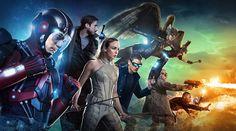 """Oficjalny opis 3 sezonu """"DC's Legends of Tomorrow""""!  Po pokonaniu Eobarda Thawne'a i jego Legionu Zagłady, Legendy stają w obliczu nowego zagrożenia, z którym pozostały pod koniec zeszłego sezonu. Mieszając się w wydarzenia, w których już uczestniczyli, zniszczyli linię czasu i stworzyli anachronizm - rozproszenie zwierząt, ludzi i przedmiotów po całym czasie. Nasz zespół musi znaleźć sposób na naprawienie wszystkiego przed upływem czasu. Ale zanim nasze Legendy przystąpią do działania, Rip…"""