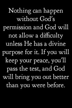 This might be discouraging... but when you come through it, you will feel so blessed.. Me Quotes, Godly Quotes, Faith Quotes, Quotes About God, Stay Calm Quotes, Spiritual Motivational Quotes, Bible Quotes, Positive Quotes, Faith Sayings