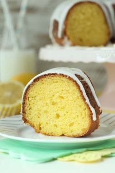Easy Lemon Bundt Cake is the perfect cake for spring. The lemon glaze drizzled on top really makes this special.