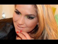 Maquiagem metalizada por Alice Salazar