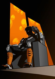 """iesnoth:"""" Forever love for Teen Titans Slade. I wish we learned more about him and why he's so deliciously evil.I put some elements of the Teen Titans Go design in there, though. I love Ron Perlman's rendition, but the TTG visual design is more. Dc Deathstroke, Deathstroke The Terminator, Slade Teen Titans, Teen Titans Go, Original Teen Titans, Cartoon Network Shows, Dc Super Hero Girls, Naruto, Arkham Knight"""