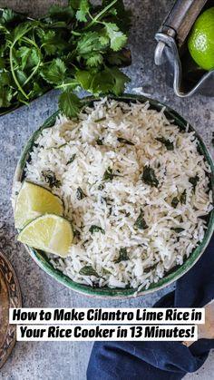Seasoned Rice Recipes, Rice Recipes Vegan, Vegan Dinner Recipes, Gluten Free Recipes, Mexican Food Recipes, Vegetarian Recipes, Ethnic Recipes, Vegan Food, Best Vegan Breakfast
