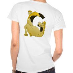 Cute Cartoon Monogram Pony G T-shirts