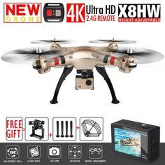SYMA X8W FPV RC Drone With 4K/1080P WIFI Camera HD