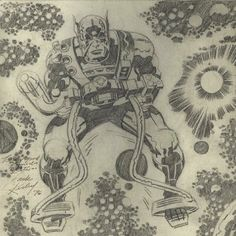 Cap'n's Comics: First Appearance of Orion by Jack Kirby