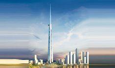 Kingdom Tower. Future plus haute tour du monde. 2020
