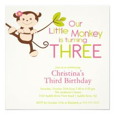 388 best 3rd birthday party invitations images on pinterest 23