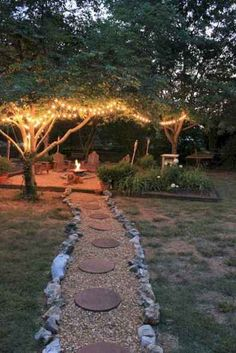 When designing your backyard, don't forget to carefully plan your lighting as well. Get great ideas for your backyard oasis here with our landscape lighting design ideas. Backyard Lighting, Outdoor Lighting, Garden Lighting Ideas, Outside Lighting Ideas, Club Lighting, Lighting Stores, Pathway Lighting, String Lights Outdoor, Ceiling Lighting