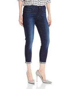 8bbffbf90d8a Levis Womens Mid Rise Skinny Crop Jeans Pacific Street 30 US 10 -- Amazon  most