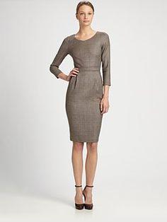Armani Collezioni - Tweed Dress