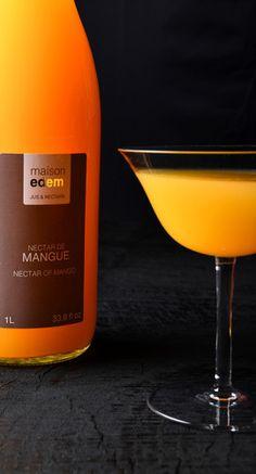 maison edem  jus et nectar de fruits exotiques www.maison-edem.com Wine, Drinks, Bottle, Food, Exotic Fruit, Mango, Juice, Home, Drinking