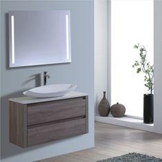 New product range. - 900 wall hung vanity basin Wenge wood grain finish Soft close draws Stone tops Colour of your choice Basin top of your choice http://www.bathroom-renovation.melbourne #bathroom #renovation #interiordesign #remodel #vanitybasin