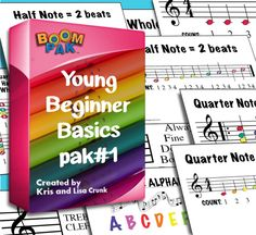Young Beginner Basics – Pak -Teach Music Theory with Boomwhackers® Piano Lessons, Music Lessons, General Music Classroom, Future Classroom, Classroom Ideas, Basic Music Theory, My Future Job, Music Lesson Plans, Piano Teaching